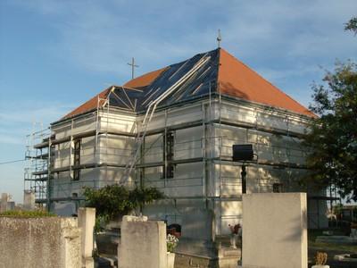 A templomtető felújítása 2012