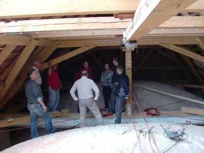 Templomtető felújítás 2012
